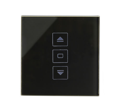 roller shutter switch / touch / crystal / contemporary