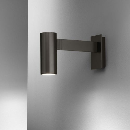 contemporary wall light / outdoor / painted metal / LED