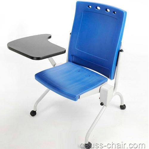 contemporary visitor chair / tablet / folding / polyethylene