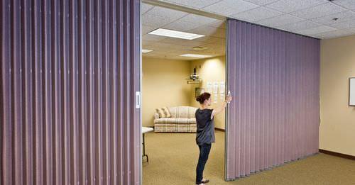 Folding partition / laminate / professional ACCORDION Hufcor