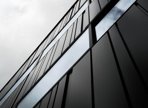 smooth cladding / panel / for ventilated facades