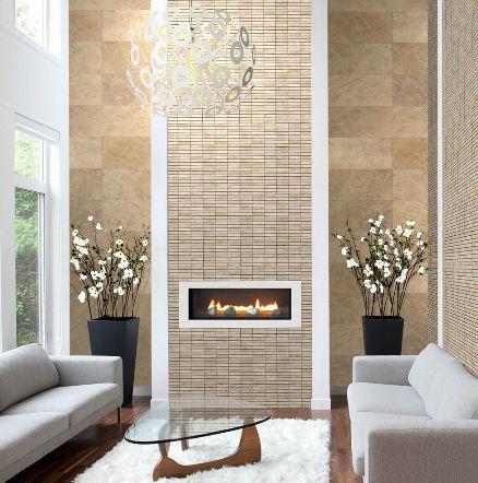 Indoor Tile Living Room Wall Marble Eisler Val Tile