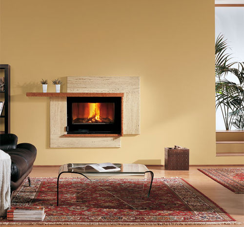 Wood fireplace insert / 1-sided 80 CRYSTAL VENTILATO EVO  La Nordica
