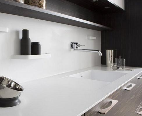 Corian® countertop / kitchen - ELÉGANCE À LA FRANÇAISE - PERENE