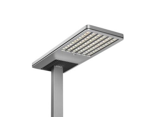 floor-standing lamp / contemporary / metal / PMMA