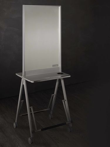 Contemporary dressing table / wooden / for hairdressers / 2-seater SCUOLA Salon Ambience