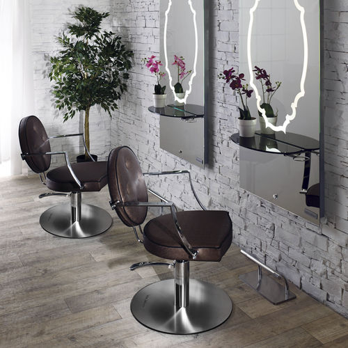 synthetic leather beauty salon chair / WPC / central base / star base