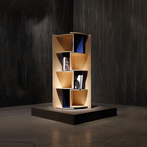 Corner bookcase / contemporary / plywood INCANTO by Marco Ferreri Adele-C
