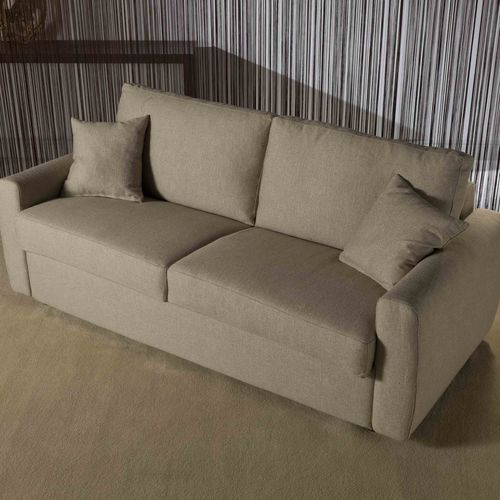 Sofa bed / contemporary / fabric / 3-seater FEDERICA Divani Santambrogio