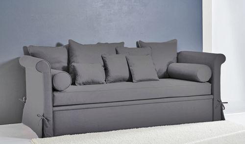 Sofa bed / traditional / fabric / 3-seater COMO : BROOKLYN Divani Santambrogio