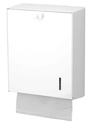 wall-mounted paper towel dispenser / metal