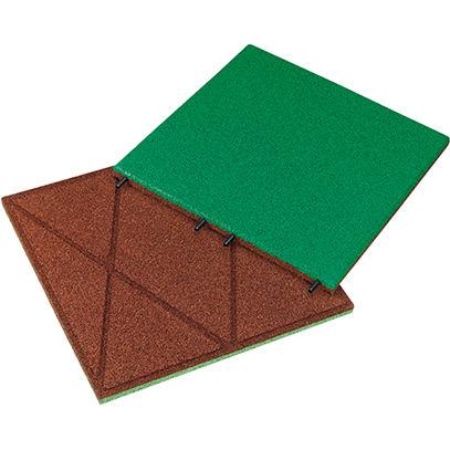 outdoor flexible tile / floor / recycled rubber