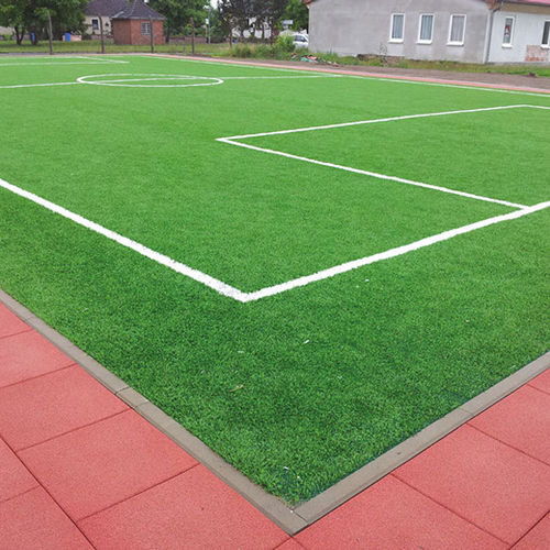 recycled rubber sports flooring / for outdoor use