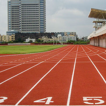 rubber sports flooring / EPDM / for outdoor use / athletics
