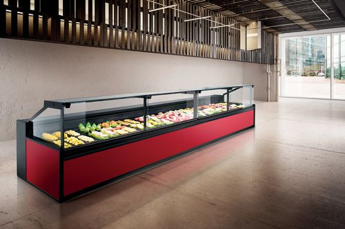 refrigerated display counter / for shops / for pastry shops / for bakeries