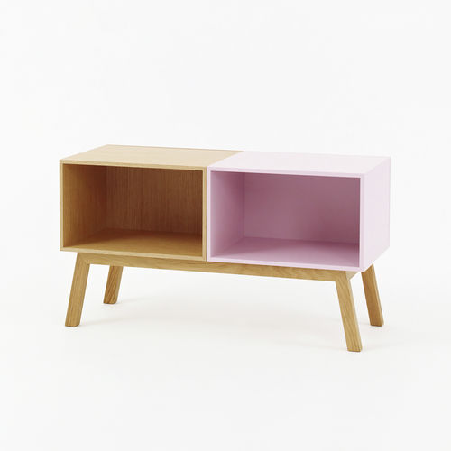 Contemporary sideboard / lacquered wood / lacquered MDF / wood veneer SB019 Cubit