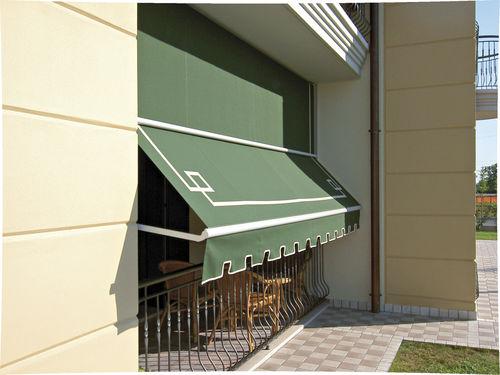 Folding-arm awning / manual GENOVA KE Outdoor Design