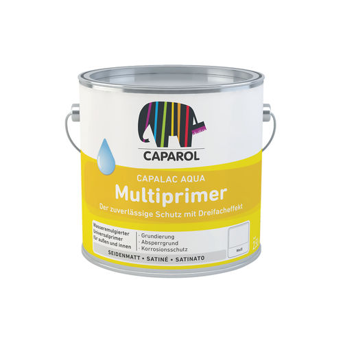 metal primer / for wood / acrylic / interior