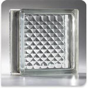 square glass brick / structure / insulating