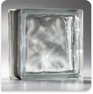 square glass brick / structure / insulating