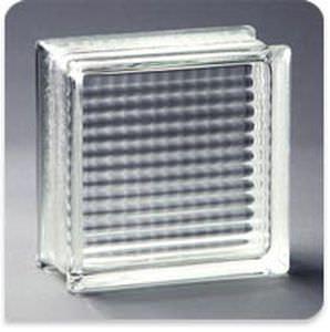 square glass brick / structure / flame-retardant