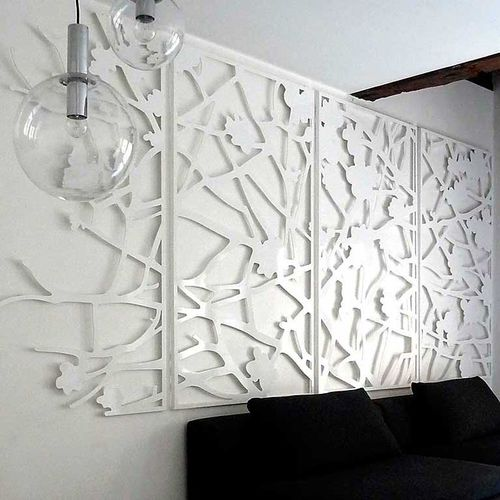 Aluminum screen wall / garden / custom QUINCE Logical Space design