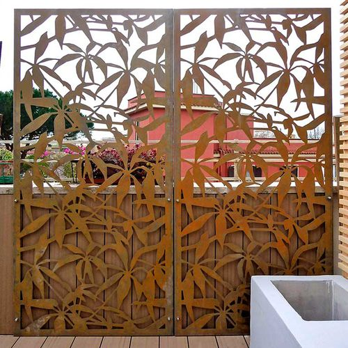 Panel screening / metal / mashrabiya type SCHEFFLERA  Logical Space design