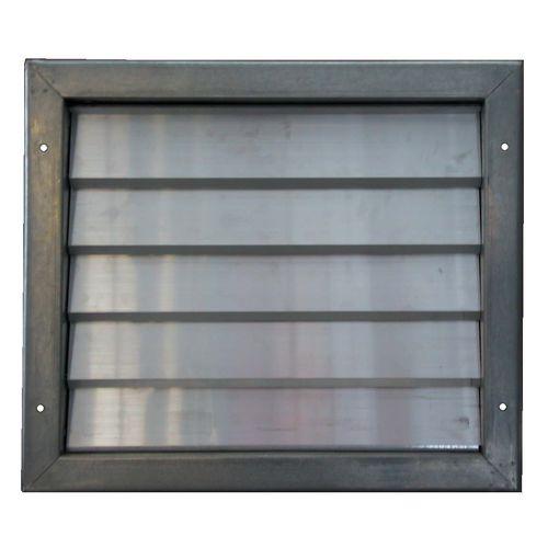aluminum ventilation damper / galvanized steel