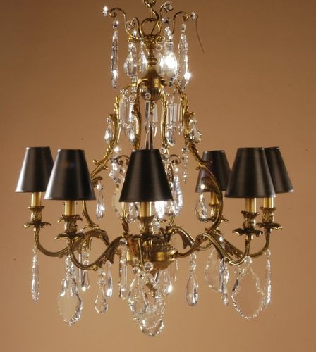 Traditional chandelier / crystal RV-292-F8 Signature Home Collection