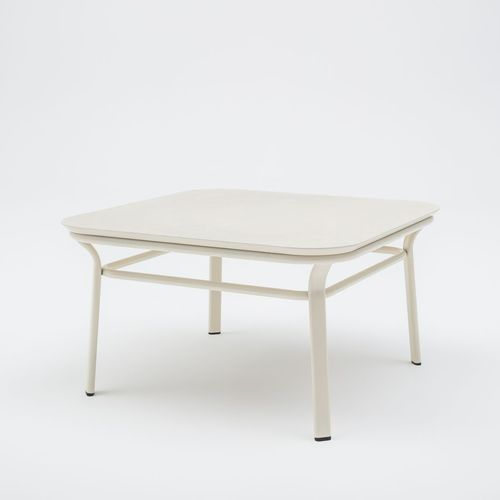 contemporary coffee table / lacquered wood / MDF / ash
