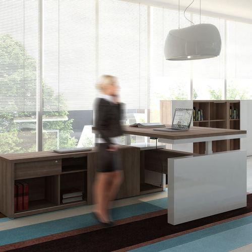 executive desk / laminate / melamine / contemporary