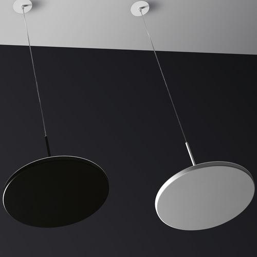 pendant lamp / contemporary / cast aluminum / methacrylate