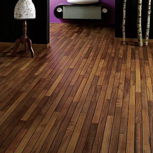 engineered parquet floor / solid / glued / floating