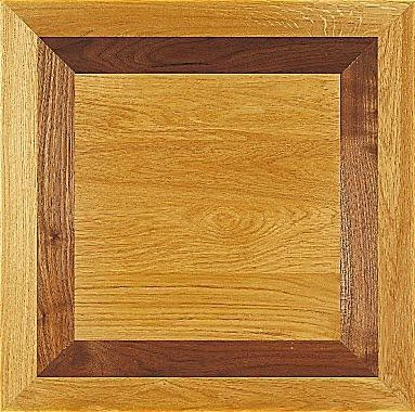 solid parquet floor / glued / oak / oiled