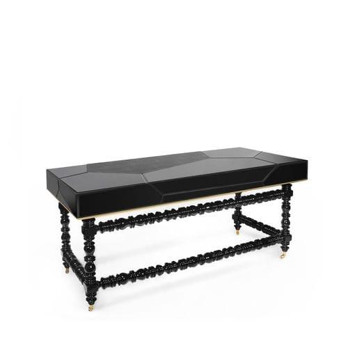 leather desk / New Baroque design