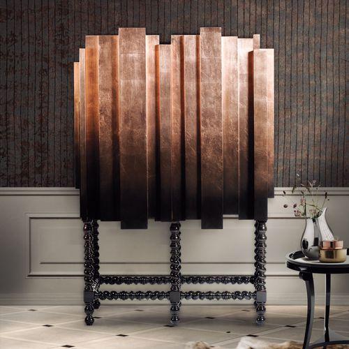 sideboard with long legs / original design / mahogany
