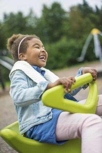 children's playground spinner / for playgrounds