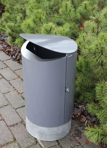 public litter bin / contemporary