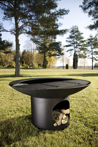 Charcoal barbecue / wood-burning / floor-standing / steel NF7690 Lappset