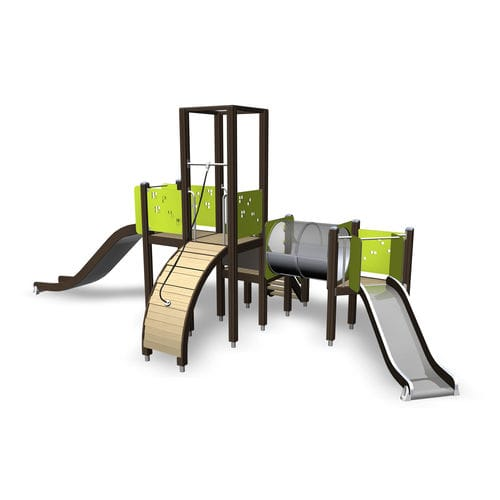 Wooden play structure / for playgrounds 137031M Lappset