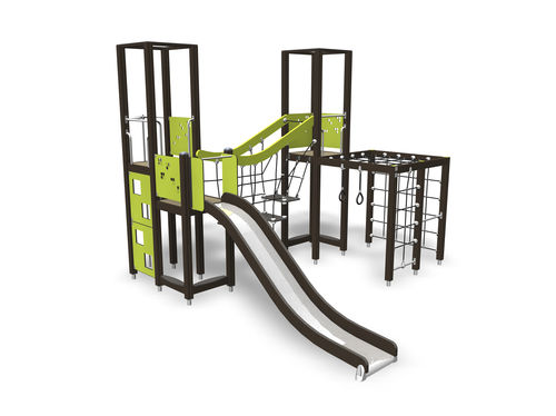 Wooden play structure / for playgrounds 137132M Lappset
