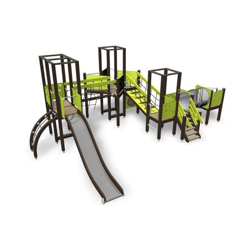 Wooden play structure / for playgrounds 137050M Lappset