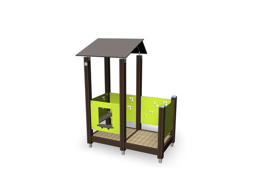 Outdoor playhouse 137455M Lappset