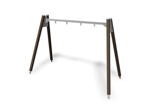 Wooden swing / steel / playground 137415M Lappset