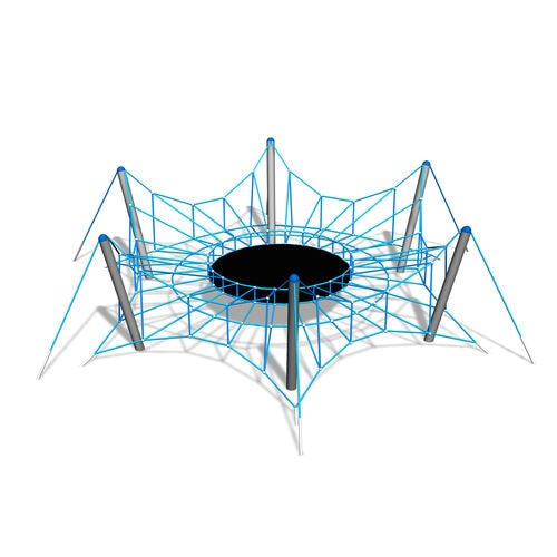 Climbing structure with trampoline / for playgrounds 200225 Lappset