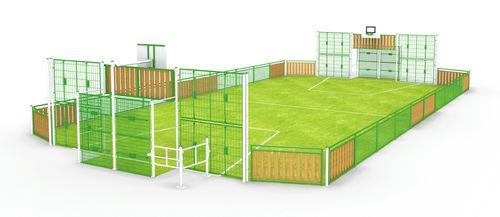 public entity multisport field