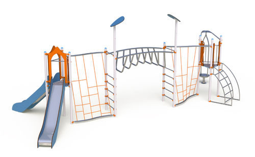 public entity play structure / metal / modular