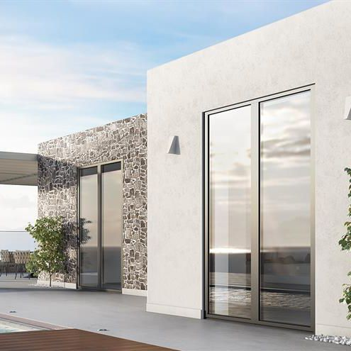 aluminum window profile - ALUMIL S.A.