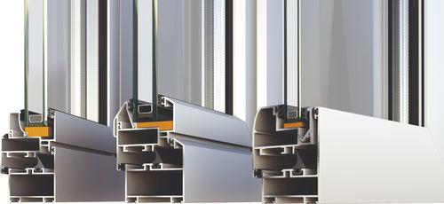 Aluminum door profile M15000 ALUMIL S.A.