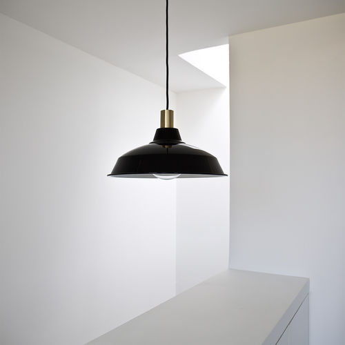 pendant lamp / contemporary / metal / black